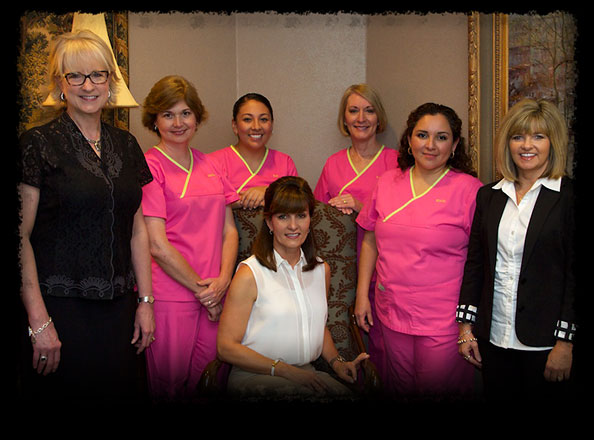 Pictured: Dr. Stukalin and her staff